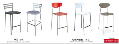 chaises hautes de cuisine chaise haute pour plan de travail cuisine