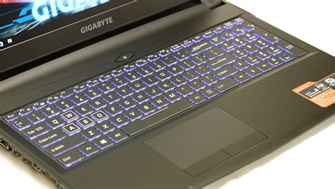 Gigabyte Sabre 15 gigabyte sabre 15 budget gaming notebook shootout no