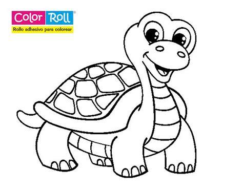 Dibujo de Tortuga Color Roll para Colorear Dibujos net