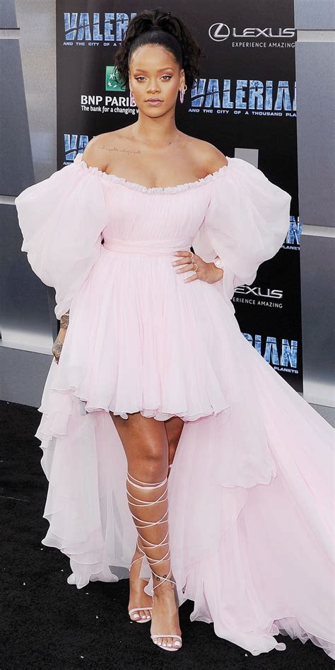Style File Rihanna's Best Red Carpet Looks Ever Instylecom