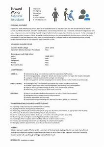 Student entry level medical assistant resume template for Entry level medical assistant resume