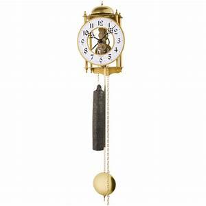 Wanduhr Mit Pendel : jvd lo3 wanduhr mit pendel mechanisch golden pendeluhr ~ Watch28wear.com Haus und Dekorationen