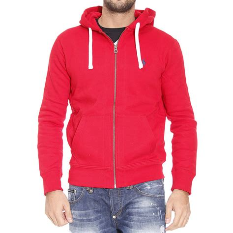 ralph polo sweaters polo ralph sweater hooded fleece zip in