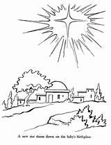 Bethlehem sketch template