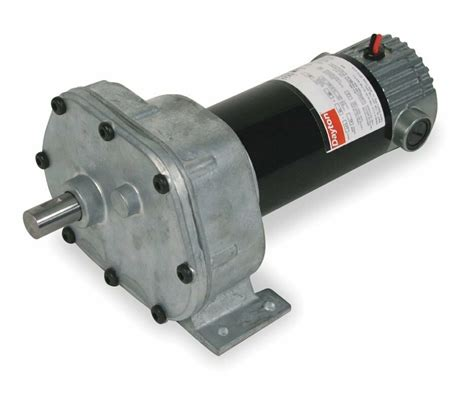 Gear Motor by Dayton Model 1lpl1 Dc Gear Motor 6 5 Rpm 1 15 Hp 90vdc