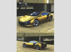A Renault Fuego Design Concept for the 21st Century