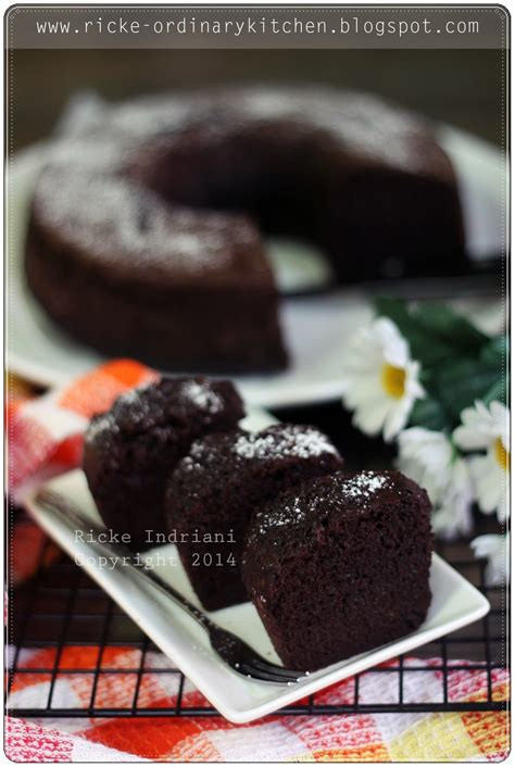 loyang kue bolong tengah polos just my ordinary kitchen simple steamed chocolate cake