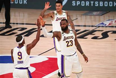 Lakers Los Angeles Nba Playoffs Nuggets Denver