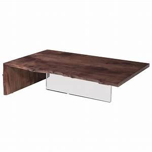 walnut and plexi base waterfall edge coffee table for sale With waterfall edge coffee table