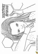 Britney Spears Coloring Pages Dessin Chanteuse Coloriage Cool Mode Drawings Christy Eulberg Printables sketch template