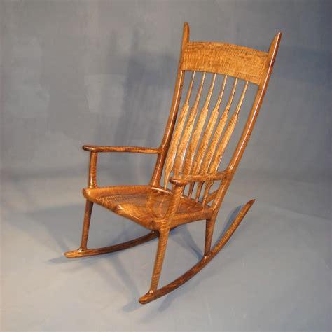 custom bastogne rocking chair by t a christenson