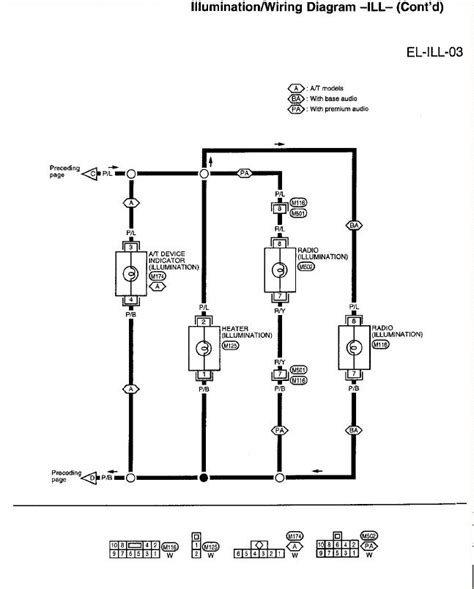 97 Nissan Light Wiring Diagram by I Need A Dash Illumination Wiring Diagram For A 1997