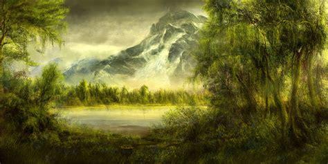 Tree Scene Wallpaper Wallpapersafari