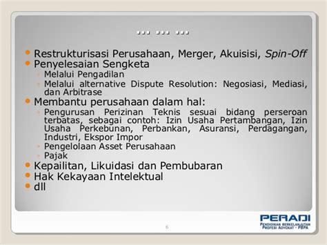 pengantar praktek corporate lawyer