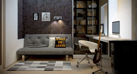 decorating a home office men s home office interior design ideas