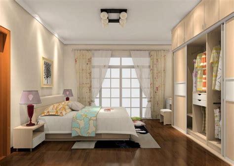 Simple Interior Design Bedroom With Wardrobe  Home Combo