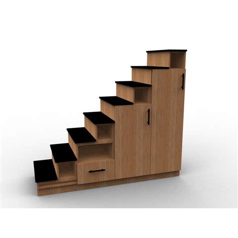 meuble escalier sur mesure en bois de ch 234 ne