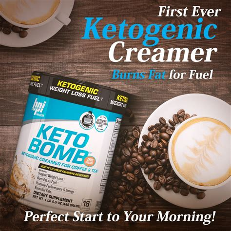 How a ketogenic creamer will help you get into and stay in ketosis. Bpi KETO BOMB Ketogenic Coffee Creamer Fat Burner Weight ...