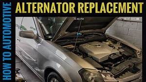 2004 Cadillac Srx Alternator Replacement