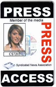 sample press passes el vaquero graphics team With press badge template