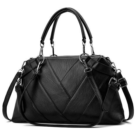 vintage  handbags  women  female brand leather