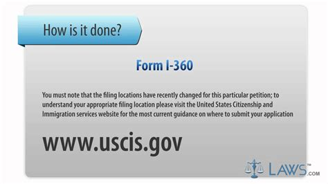 Learn How To Fill The Form I 360 Petition For Amerasian