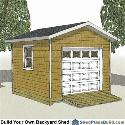Free Shed Blueprints 12x12 by Storage Shed Plans