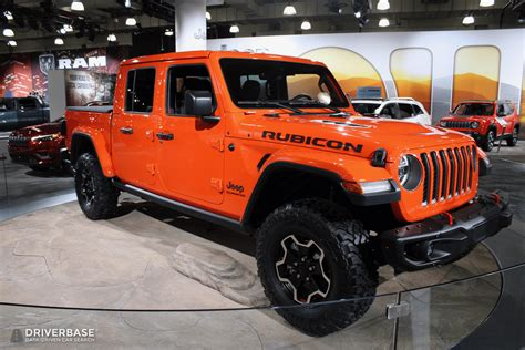 jeep gladiator rubicon truck     york auto show driverbase