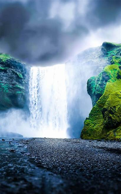 Kindle Fire Hdx Dreamy Waterfall Wallpapers Wallpapersafari