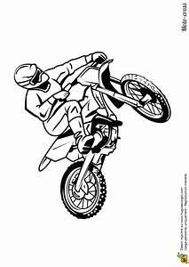 dessin a colorier moto cross sur circuit With dessin de maison facile 3 apprendre 224 dessiner un ange