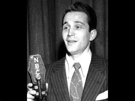 perry como wanted wanted perry como 1954 youtube
