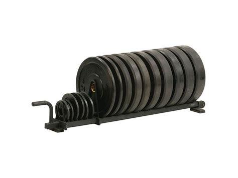 york horizontal bumper plate rack full size