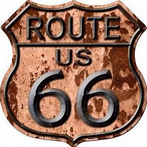 Plaque Vintage Metal : plaque m tal route 66 vintage rusty blason american dreams deco ~ Teatrodelosmanantiales.com Idées de Décoration