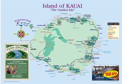 kapaa hawaii hotelmap layout aston islander   beach