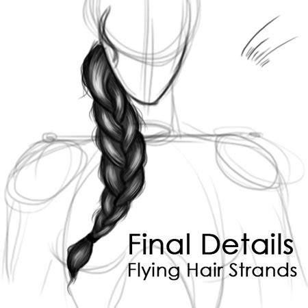 draw braids   ways  draw  braid