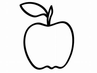 Apple Coloring Pages Preschool Printable Apples Clip