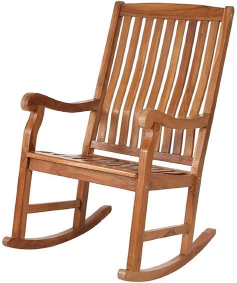 all things cedar teak rocking chair outdoor rocking