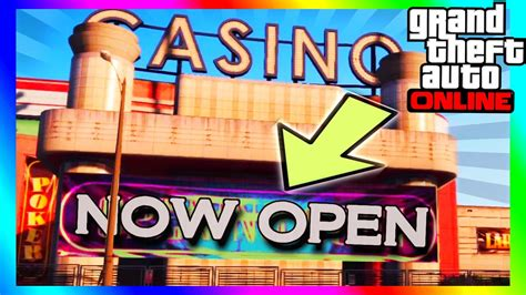 Gta 5 Online Casino Opening Soon In A New Dlc?