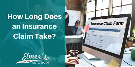 Does onsite and high salary secure our future? How Long Does an Insurance Claim Take?   Elmer's Auto Body