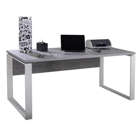 scrivania da scrivania da ufficio struttura in metallo bianco e tavolo