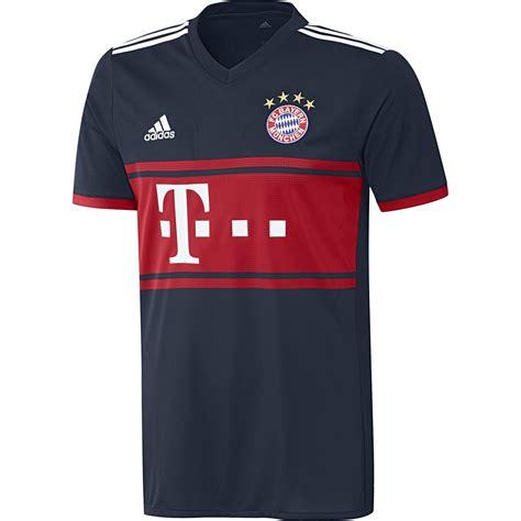 Der fc bayern münchen ist der erfolgreichste deutsche fußballklub und deutscher rekordmeister. adidas FC BAYERN MÜNCHEN Trikot Away Herren 2017 / 2018 ...