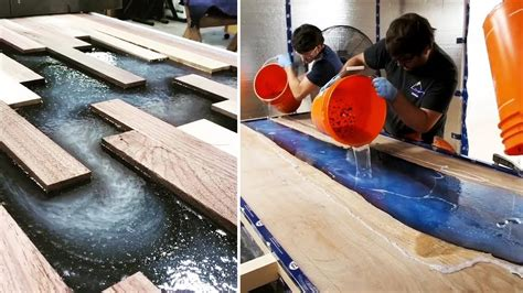 10 Most Amazing Epoxy Resin And Wood River Table Designs