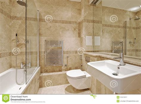 bathroom with marble stock image image of design 11511017