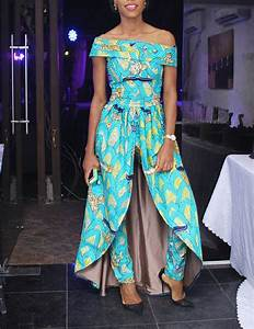 12 Gorgeous African Print Dresses For Wedding Guests ...