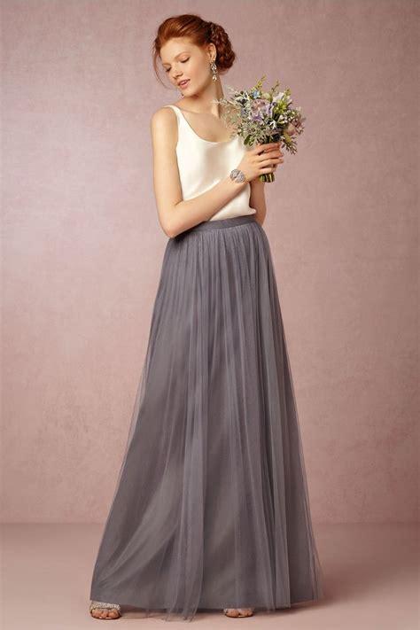 jenny yoo louise tulle skirt bridesmaid separates
