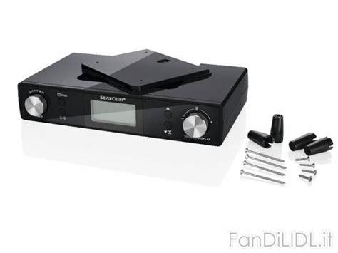 radio cuisine lidl radio sottopensile cucina fan di lidl