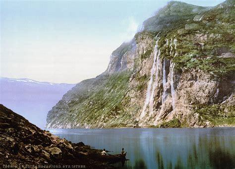 Filethe Seven Sisters Geiranger Fjord Norway