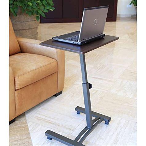 portable standing desk amazon mobile laptop notebook table workstation cart portable