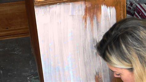 adding  wash  annie sloan chalk paint part  youtube