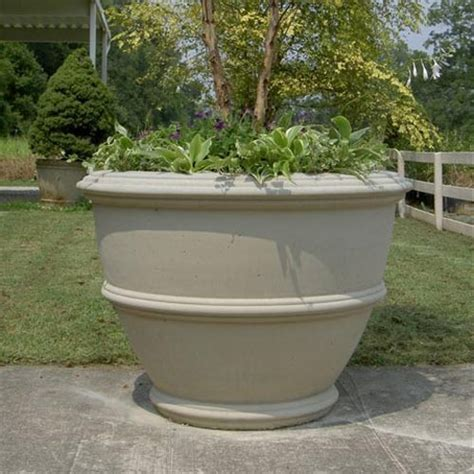 cement planters for various concept of concrete planter boxes for home